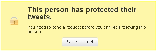 protected tweets