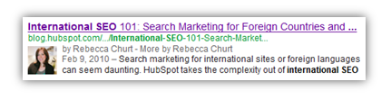 rel author use for seo