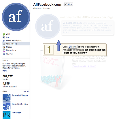 5 examples of like gating to generate facebook fans all facebook fandeluxe Image collections