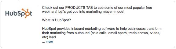 LinkedIn Company Description