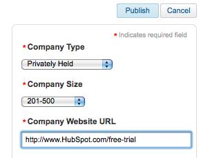LinkedIn Company Page URL