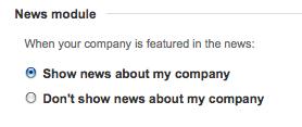 Add News LinkedIn