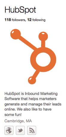 HubSpot Pinteret Followers