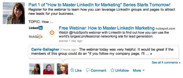 Inbound Marketers LinkedIn Group