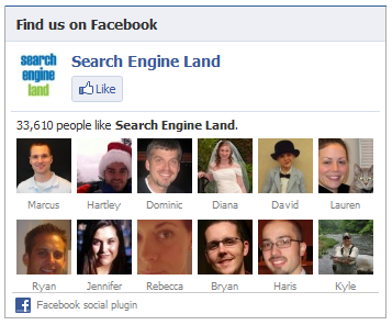search engine land social plugin