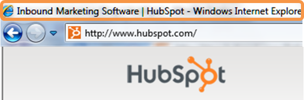 HubSpot Page Title