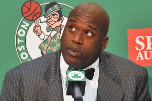 Shaq on the Celtics