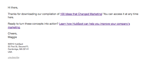 why thank you emails are the untapped gold mine of email marketing