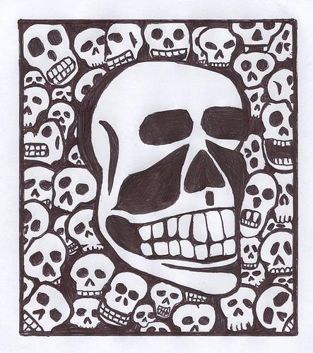 skull and cross bones