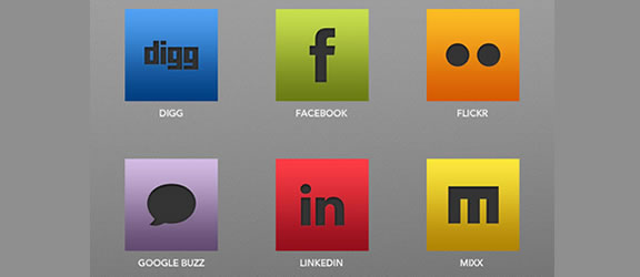 sleeksocial icon pack