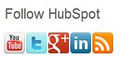 social media follow buttons