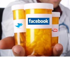 social media drugs