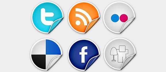 sophisticated premium peel over icon set