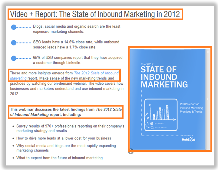 state of inbound marketing 2012
