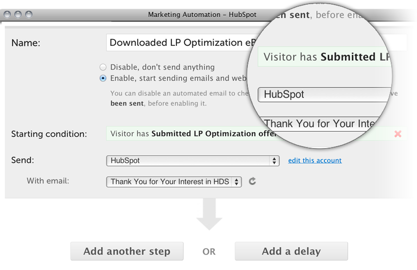 hubspot software