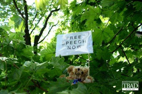 Free Speech Teddy Bear