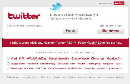 Twitter World AIDS Day