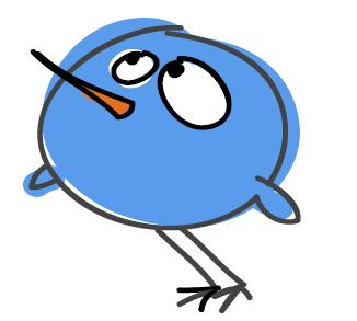 twitter bird