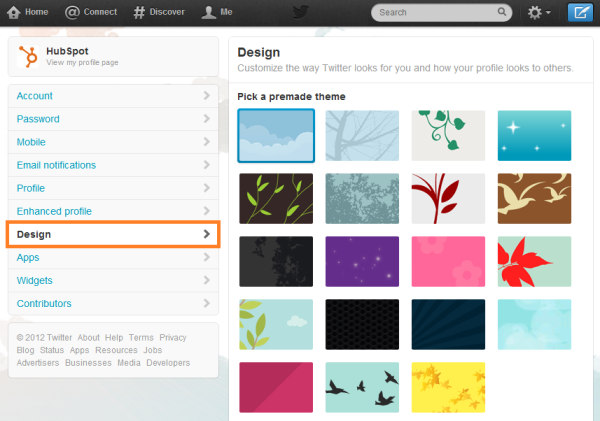 twitter profile pages resized 600