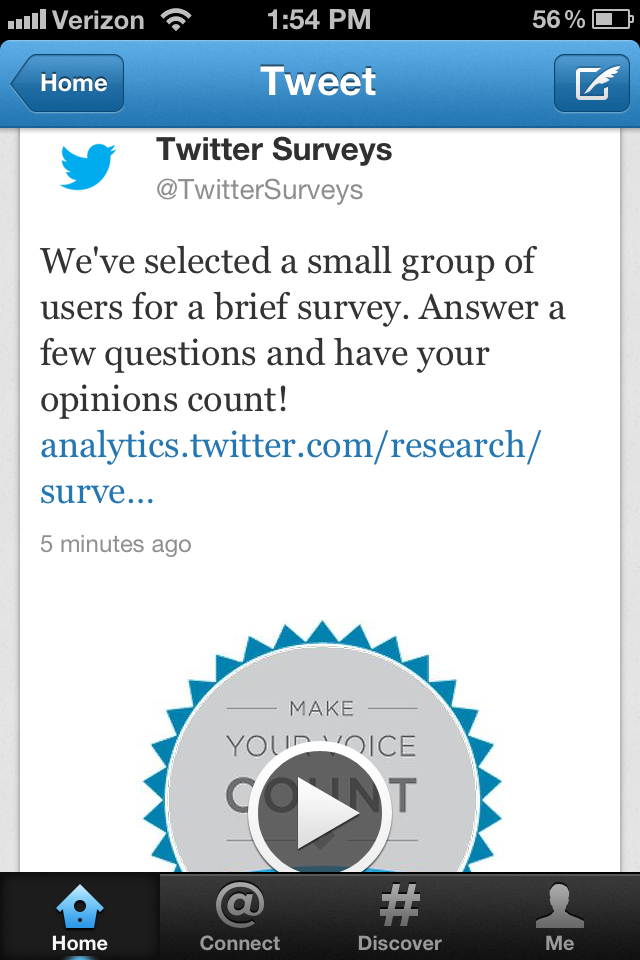 twitter survey image