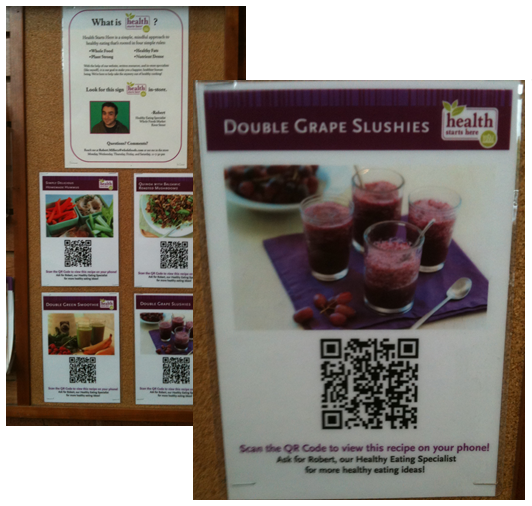 whole foods recipe qr code