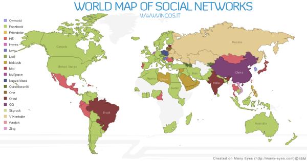 global social networks