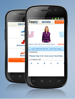 zappos mobile app