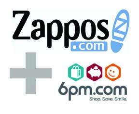 Zappos + 6pm Logo