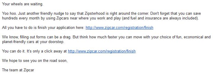 4) Zipcar