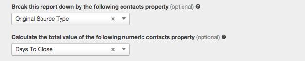 Contacts Property