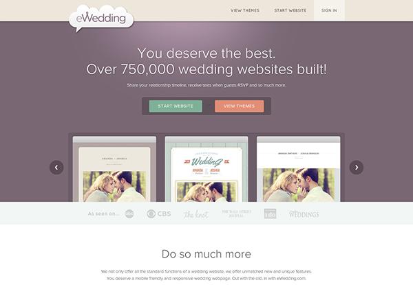 eWedding Web Site Design