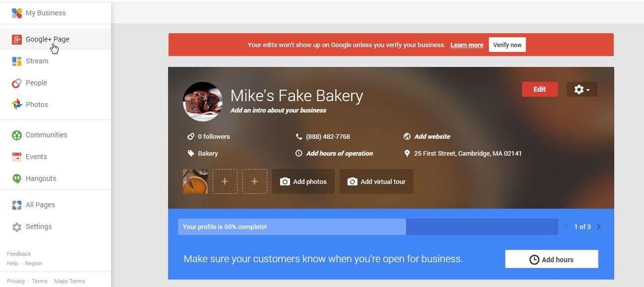 optimize-google+-page