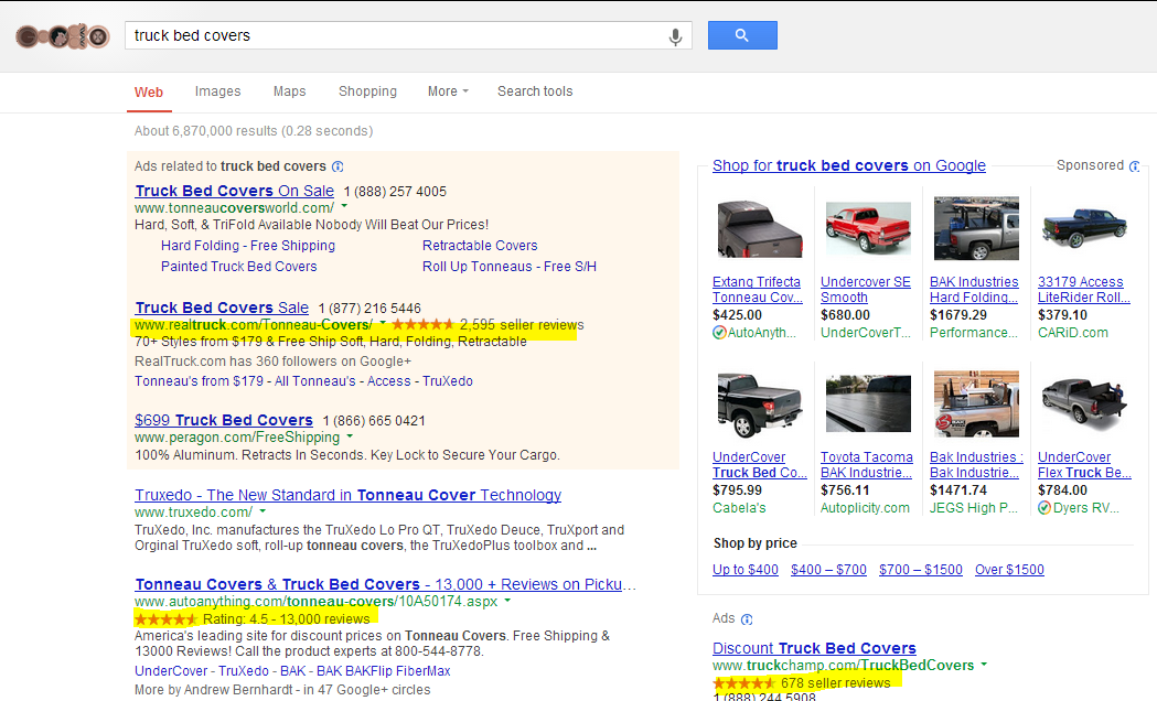 ecommerce-serp-example