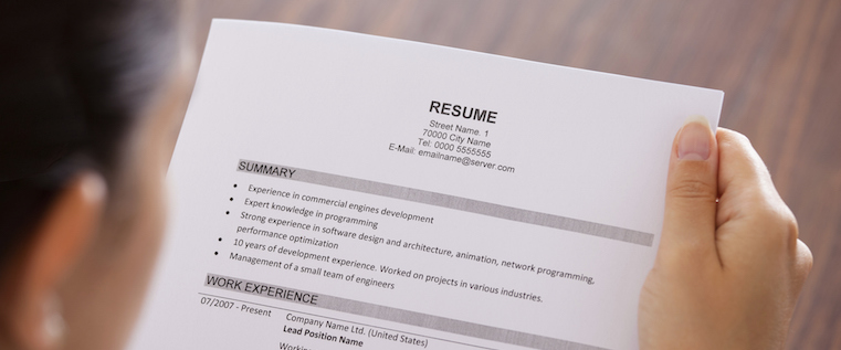 what is a resume name