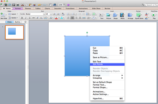 14 powerpoint presentation tips for building more creative another option is to combine two shapes together when selecting two shapes right click and go to the grouping sub menu to see a variety of options toneelgroepblik Image collections