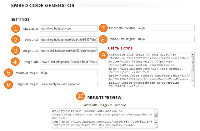 How to Create Embed Codes for Your Infographics [Free Embed