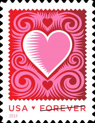 forever-heart-stamp-2014