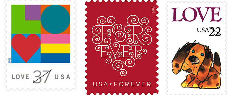 love-stamps
