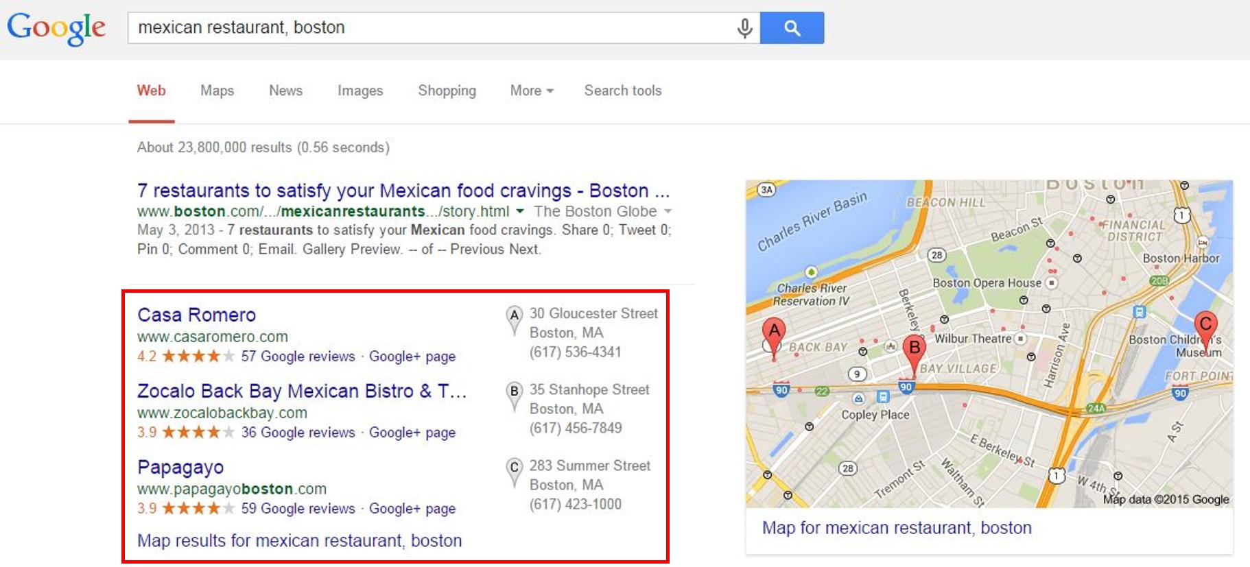 谷歌我的企業 - 上市