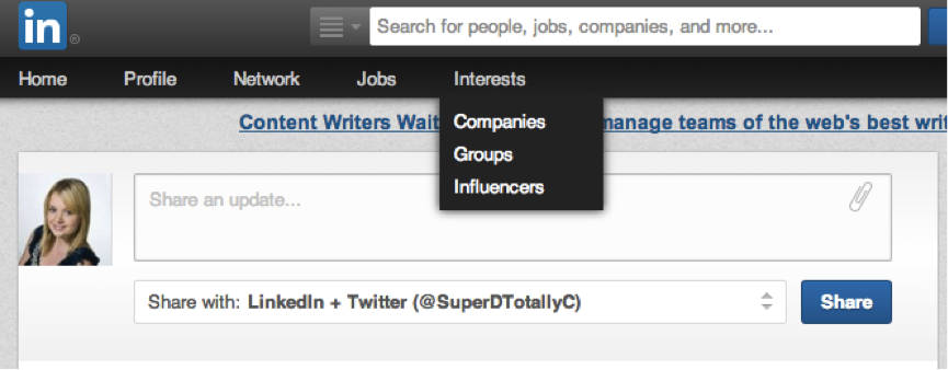how to find saved articles on linkedin