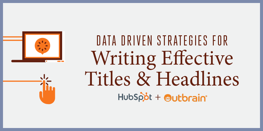 Data-Driven Strategies for Writing Effective Titles & Headlines
