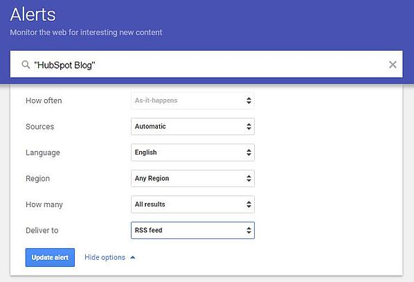 Google Marketing Tools google-alerts