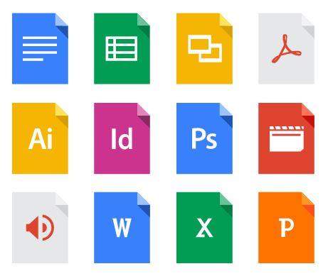 谷歌驅動器,文件