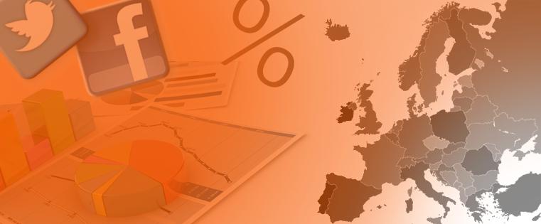 European social media stats