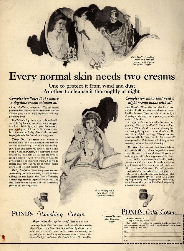 ponds-two-creams