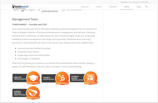 think-handy-certification-website