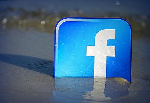 facebook-logo-in-sand