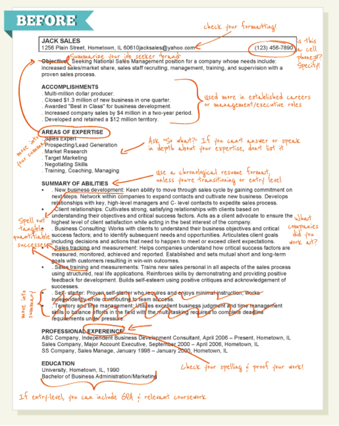 High Quality Click The Image To See The  And How To Do Your Resume