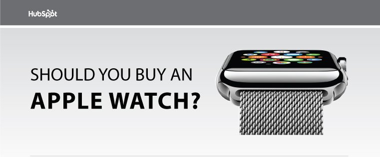 Should You Buy the Apple Watch? [Flowchart]