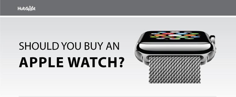 Should You Buy the Apple Watch? [Flowchart]